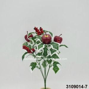 Artificial/Plastic Christmas Apples Bush (3109014-7) pictures & photos