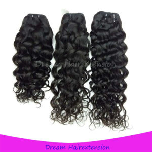 Natural Color Unprocessed Water Wave Brazilian Virgin Hair pictures & photos