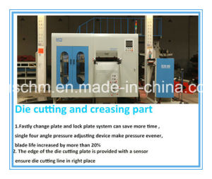 Manual-Auto Integrated Automatic Die Cutting Machine pictures & photos