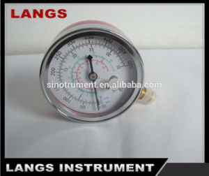 011 Chrome Plated Freon Pressure Gauge & Manometer pictures & photos