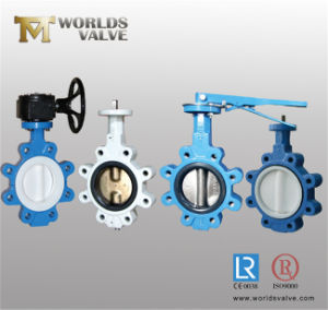 Lugged Type Wafer Butterfly Valve pictures & photos