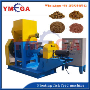 Competitive Price Automatic Fish Food Extruder Machine pictures & photos