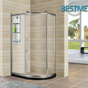 Shinning Big-Copper-Rollers Aluminum-Alloy Shower Enclosure (BL-Z3508) pictures & photos