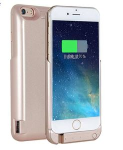 External Battery Pack Power Bank Charger Case Cover for iPhone 6s pictures & photos