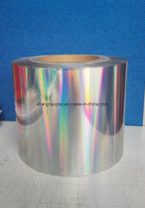 Holographic Laser Film (ZY16U PET FILM0011) pictures & photos