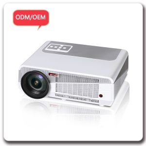 LED Bluetooth Wireless Smartphone Read Blue 3D Digital Projector pictures & photos