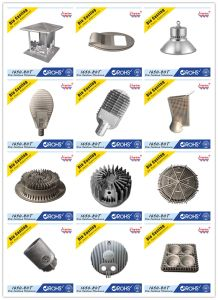 High Power Die Casting LED Lampshade and Streetlight Housing Accessories pictures & photos