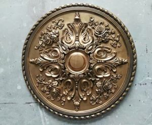 Polyurethane / PU Material Ceiling Medallions, Ceiling Rose for Home Decor pictures & photos
