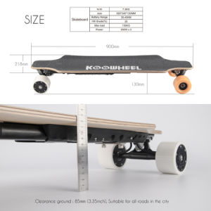New Private Four Wheel Electric Skateboard Mobility Scooter pictures & photos
