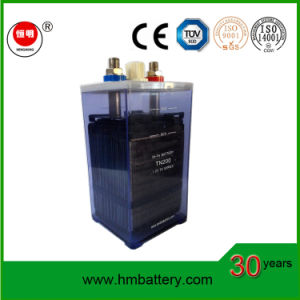 Long Service Life High Quality Nickel Iron Battery/ Ni-Fe Battery Tn200 for Solar Energy pictures & photos