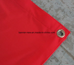 Full Color Polyester Banner Printed Fabric (SS-SF102) pictures & photos