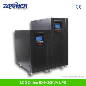 220V 50Hz LCD Single Phase Online UPS Power (1K-20K) pictures & photos