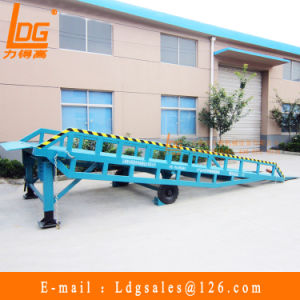 Cheap Mobile Hydraulic Loading Platform (DCQY6-0.8) pictures & photos
