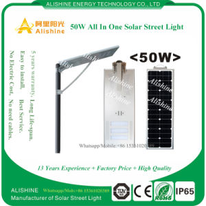 50W LED Solar Street Light with Time Control for Road pictures & photos