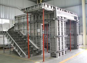 Concrete Wall Aluminum Formwork System