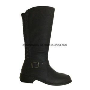 New Lady Winter Long Boots Army Boots pictures & photos