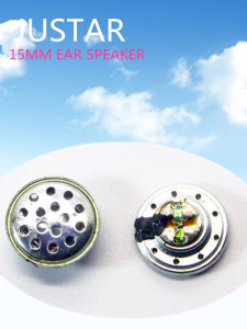 15mm Ear Speaker 32ohm 25MW-50MW pictures & photos