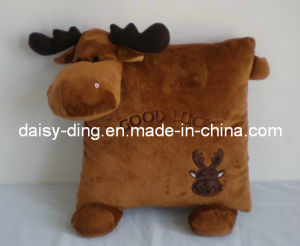 Plush Sheep Cushion with Embroidery pictures & photos