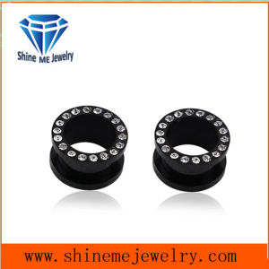 Piercing Body Jewelry Ear Plug (SPG1820B) pictures & photos