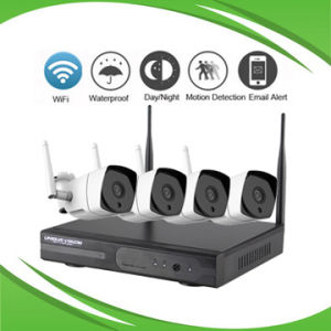 4CH 4MP WiFi NVR Kit Support P2p and Mobilephone pictures & photos
