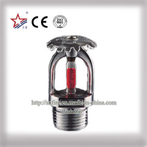 Zinc or Brass Material Upright Fire Sprinkler pictures & photos