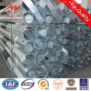 Polygonal Section Galvanized Steel Pole Pipe pictures & photos