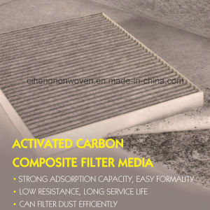 Auto Cabin Air Filter Absorbant Material pictures & photos