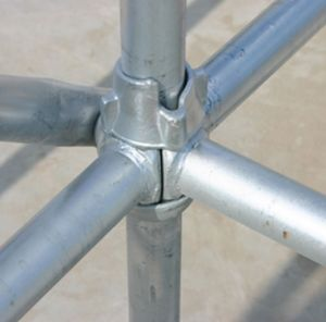 SGS Steel Best Price Cuplock Scaffolding for Construction pictures & photos