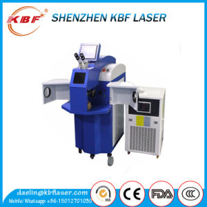 Standing YAG Copper Laser Spot Welding Machine 200W for Sale pictures & photos