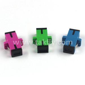 Sc Fiber Optic Coupler Sc/APC Optical Fiber Adapter pictures & photos