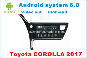 New Ui Android 6.0 Car GPS Player for Toyota Corolla 2017 with Car Navigation