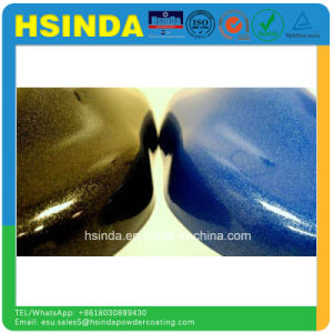 Shiny Luminous Automotive Car Metallic Powder Paint Colors Powder Coating pictures & photos