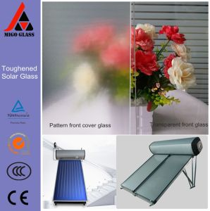 3.2mm Toughened Solar Textured and Transparent Glass Panels pictures & photos