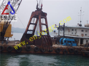 Two Rope Four Rope Clam Shell Grab Mechanical Dreding Grab for Dredger pictures & photos