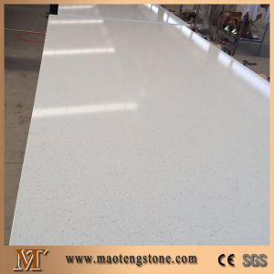Wholesale White Color Sparcle Artificial Stone Quartz Slab pictures & photos