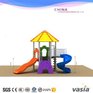 Outdoor Plastic Playground Slide Equipment pictures & photos