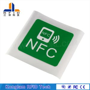 Dustproof NFC Card for Mobile Payment with MIFARE S50 pictures & photos