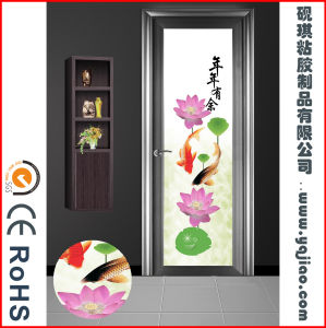 Decorative Removable Tinting Static Cling Self- Adhesive Decorative Mirror Film pictures & photos