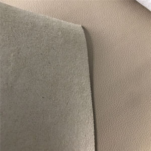 Hot Sale 1.0mm to 3.0mm Bovine Fiber Leather for Furniture Automobile Carseat Cover pictures & photos