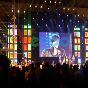 HD Indoor Rental LED Display for Stage Performance 7.62mm
