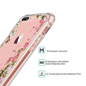 Flower Slim Scratch-Resistant TPU Bumper Cover PC Hard Case for iPhone 7 pictures & photos