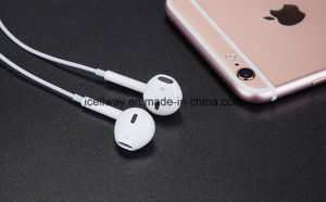 Wholesale Earphones for iPhone7 Earphone with Volume Control & Mic pictures & photos