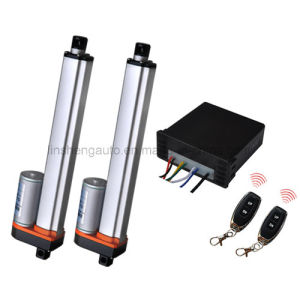 DC Remote Control Kit for Two Linear Actuator Working in Equal pictures & photos