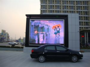 Outdoor P5 SMD 3ub1 Full Color LED Advertising Wall pictures & photos