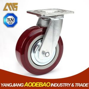 Heavy Duty Swivel PVC Caster Wheels pictures & photos