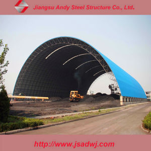 Steel Space Frame Roof Structure Design for Dome Shelter pictures & photos