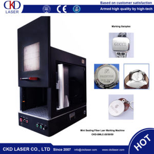 Automatic Fiber Laser Engraving Machine for Jewelry pictures & photos