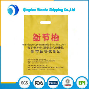 Thicken 3D Bright Color Low Density Polyethylene Merchandise Die Cut Bag pictures & photos