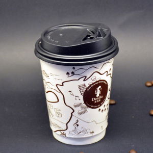 Custom Printed Disposable Eco-Friend Double Wall Hot Coffee Paper Cups pictures & photos
