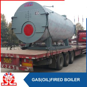 Horizontal 3 Ton Oil Steam Boiler pictures & photos